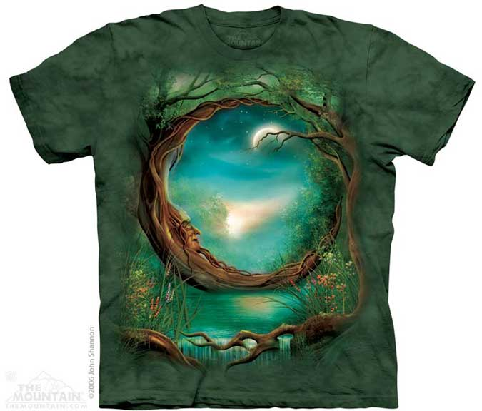 The Mountain Moon Tree T-Shirt