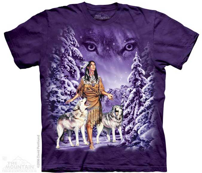 The Mountain Indian Eyes T-Shirt
