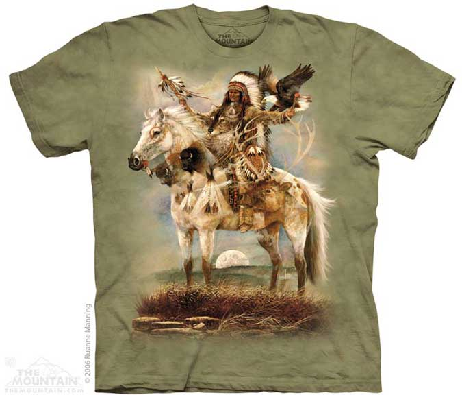 The Mountain Indian Spirit T-Shirt
