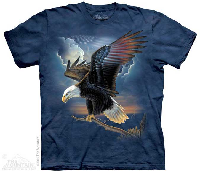 The Mountain Patriot Eagle T-Shirt