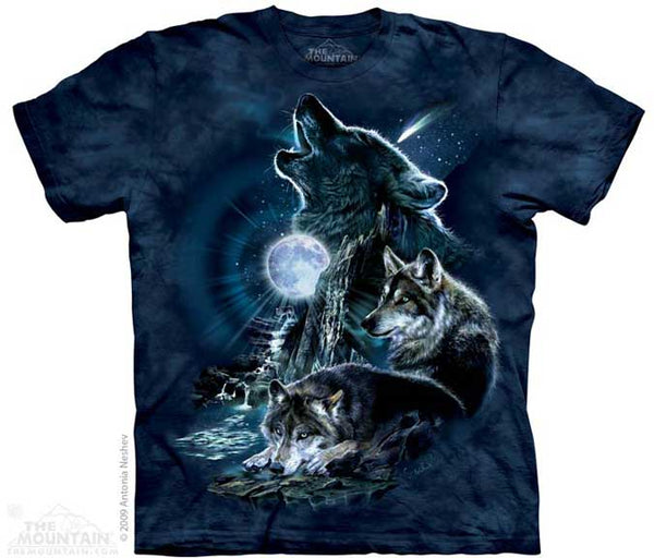 The Mountain Bark at the Moon T-Shirt