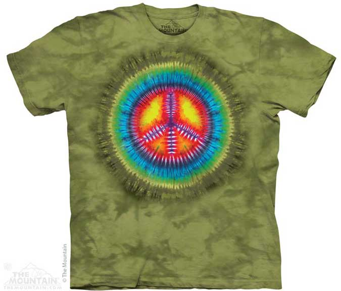 The Mountain Peace Tie-Dye T-Shirt