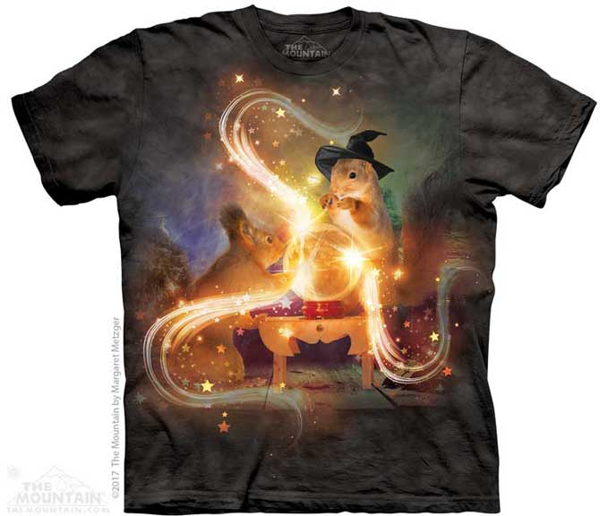 The Mountain Magic Squirrel T-Shirt