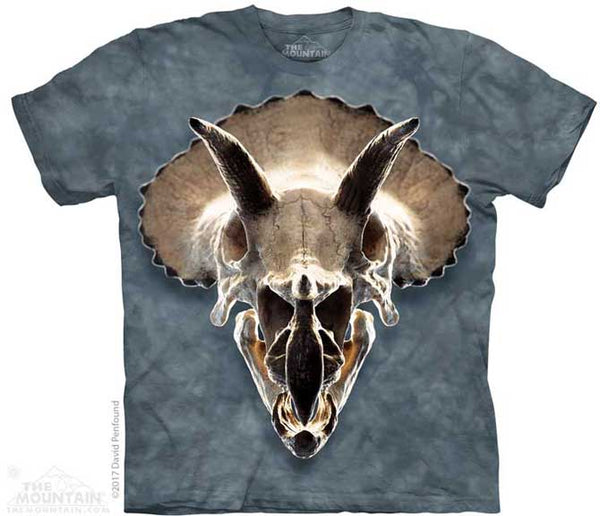 The Mountain Triceratops Skull T-Shirt