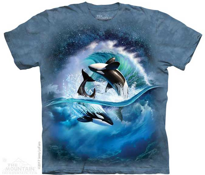 The Mountain Orca Wave T-Shirt