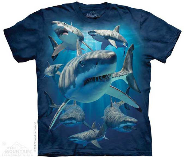 The Mountain Great Whites T-Shirt