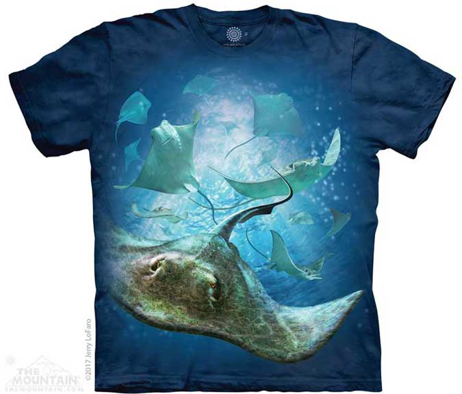 The Mountain School of Stingrays T-Shirt