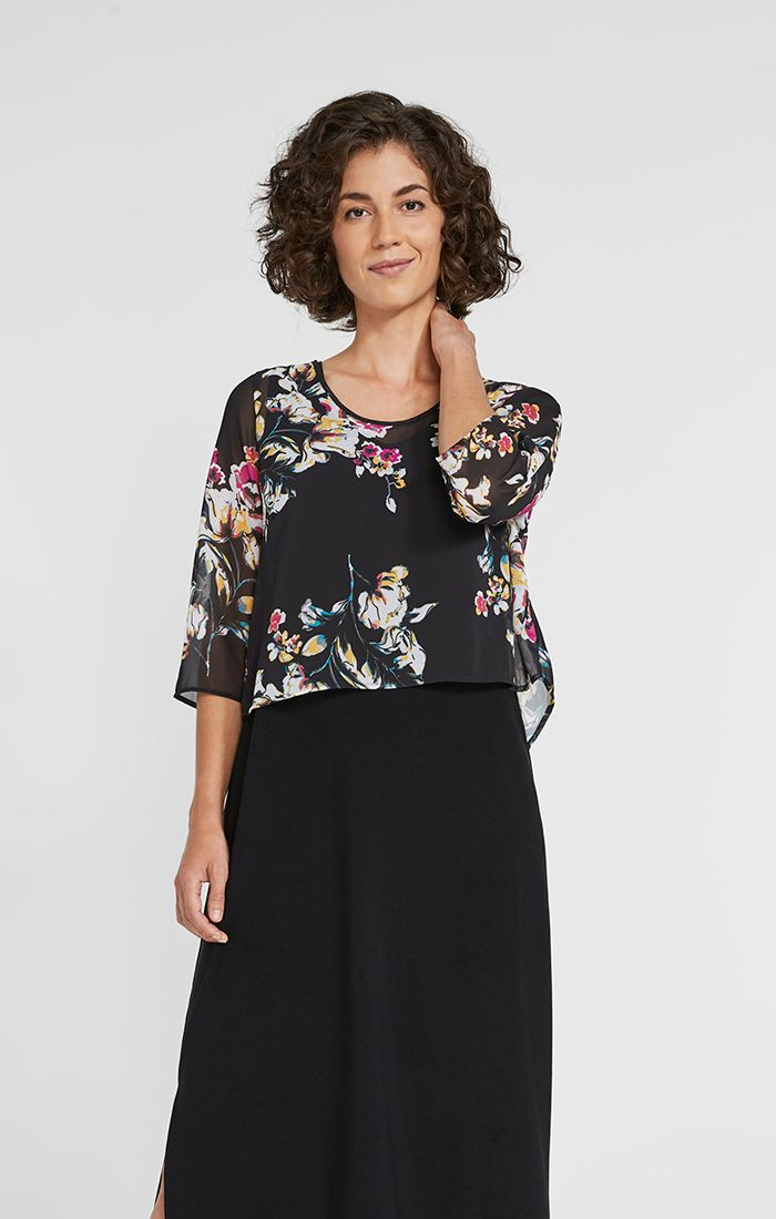 Floral Whisper Shorty Top - 30% Off