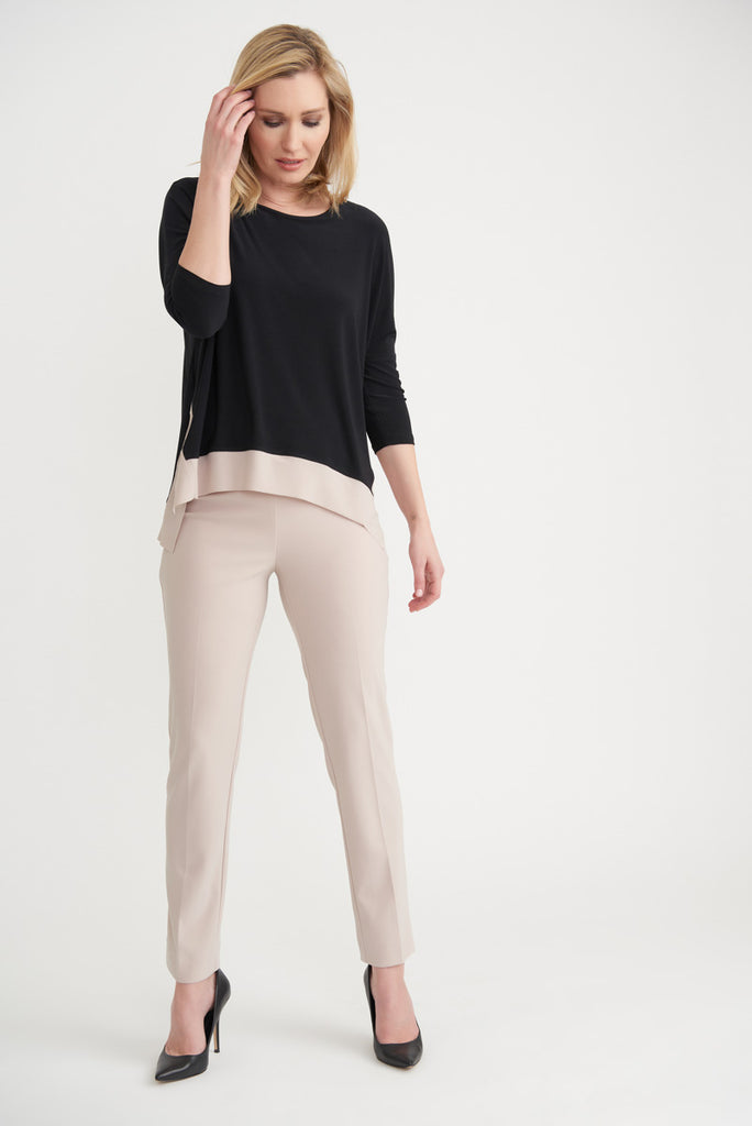 Full length Two Tone Top from Joseph Ribkoff
