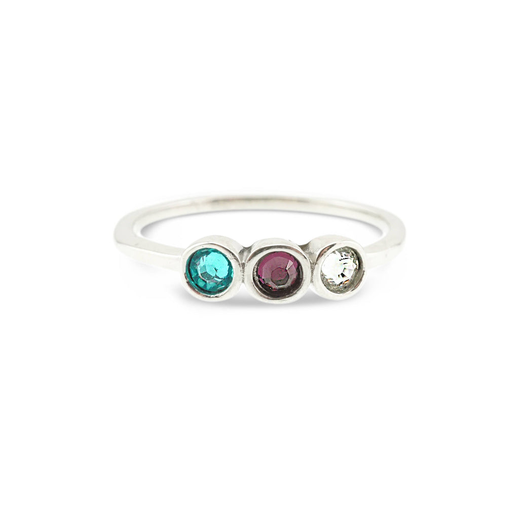 Mothers Ring - Mothers Birthstone Ring - Mothers Jewelry - Family Ring - Family Birthstone Ring - Mothers Day Gift - Ring with Birthstones