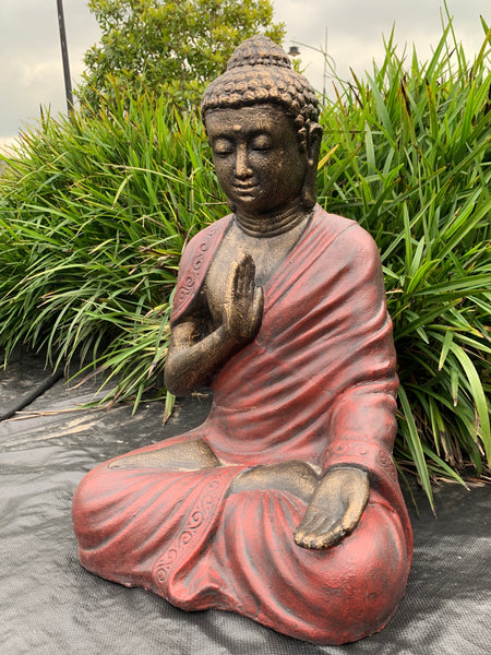 Serene Protection Buddha-Red