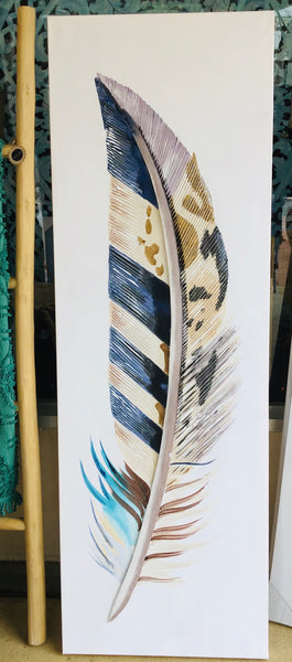 Feather Painting Multi