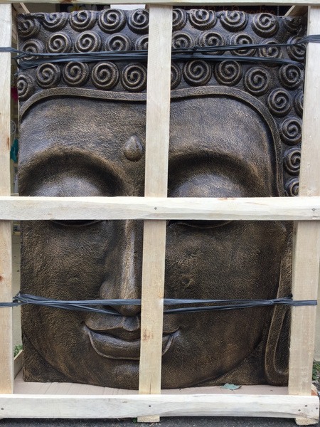 Buddha Face Wall Plaque (Relief)