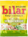 Ahlgrens Bilar Sursockrade, 100g Case of 42