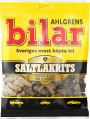 Ahlgrens Bilar Salmiakki Candy Cars, 100g - Case of 42