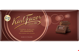 Fazer Dark Chocolate Bar, 47% Cocoa, 200g - Case of 22