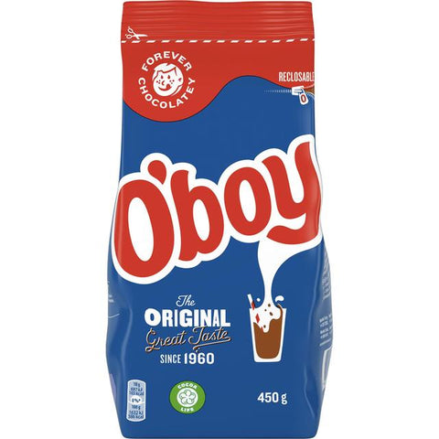 O'Boy Chocolate Drink Mix, 450g