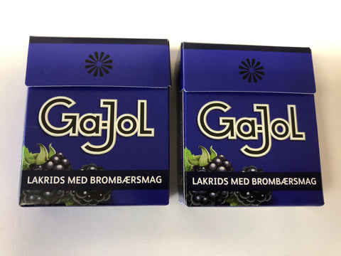Ga-Jol Blackberry and Vanilla Pastilles, 2/23g