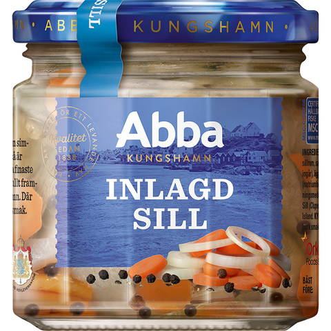 Abba Herring Tidbits in Onion & Carrot, 240g