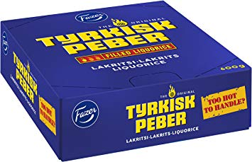 Fazer Licorice Sticks Turkish Pepper, 20g - Case of 30