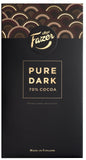 Fazer Pure Dark 70% Cocoa Chocolate Bar, 95g (Original, Crunchy Hazelnut, Twist of Mint) - Clearance