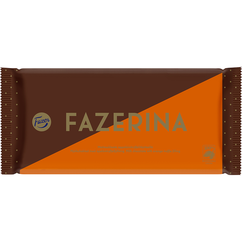 Fazer Fazerina Chocolate Bar, 121g - Case of 20
