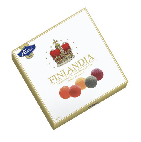 Case of Fazer Finlandia Fruit Jellies 500g