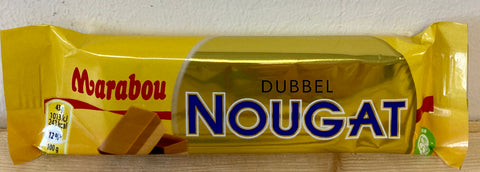 Marabou Double Nougat Bar, 50g - Case of 42