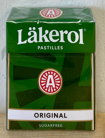 Lakerol Original Pastilles, 23g - Case of 24