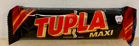 Tupla Maxi Chocolate Bar, 50g - Case of 42