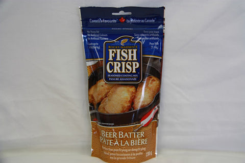 Case of Rocky Madsen's Fish Crisp Beer Batter