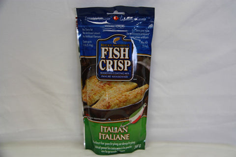 Case of Rocky Madsen's Fish Crisp Italian