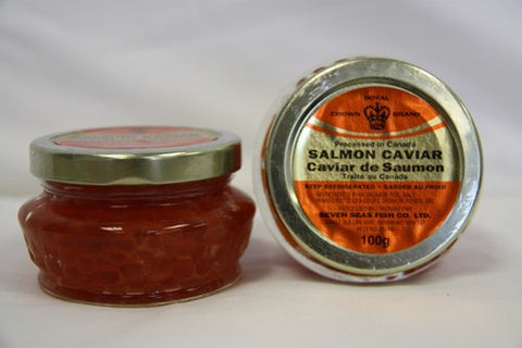 Case of Royal Crown Salmon Caviar