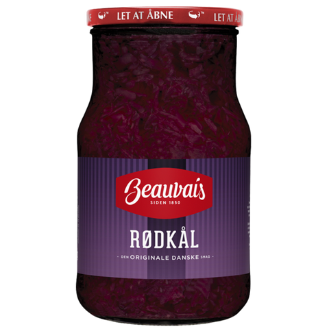 Beauvais Red Cabbage, 580g - Case of 12