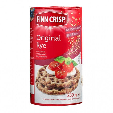 Case of Finn Crisp Original Rye Round