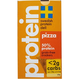 Swedish Protein Deli 50% Protein Grain-Free Pizza Crackers, 60g - Case of 10