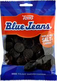Toms Blue Jeans Salt Licorice, 110g