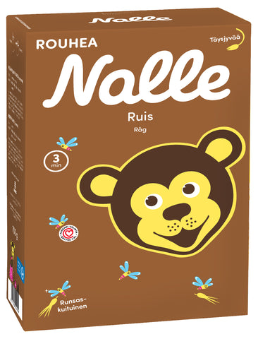 Nalle Rye Cereal Flakes, 700g - Case of 10