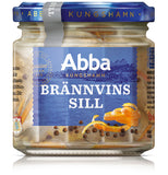 Case of Abba Herring Tidbits in Aquavit