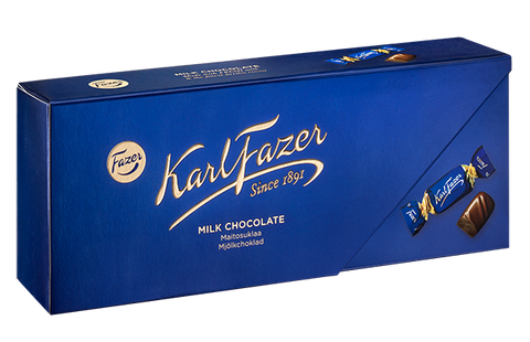 Fazer Blue Milk Chocolates, 270g - Case of 12