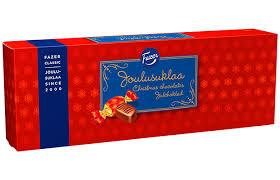 Fazer Joulusuklaa Christmas Chocolates Box, 320g - Case of 12