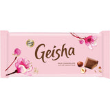 Fazer Geisha Hazelnut Chocolate Bar, 121g - Case of 20