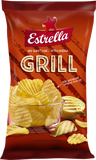 Estrella Grill Potato Chips, 175g - Case of 21