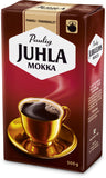 Case of Paulig Juhla Mokka Coffee Coarse Grind 500g