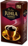 Case of Paulig Juhla Mokka Dark Coffee Fine Grind  500g
