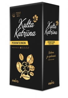 Kulta Katriina Coffee Coarse Grind, 500g - Case of 10