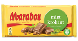 Case of Marabou Mint Chocolate Bar 200g