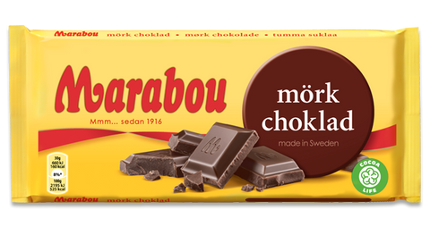 Marabou Dark Chocolate 200g