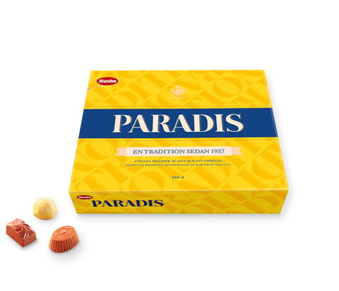 Case of Marabou Paradis Chocolate Assortment