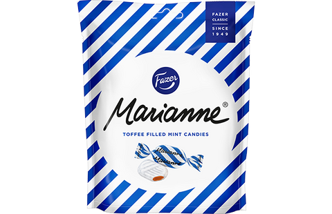 Fazer Marianne Candies, Toffee, 220g - Case of 18